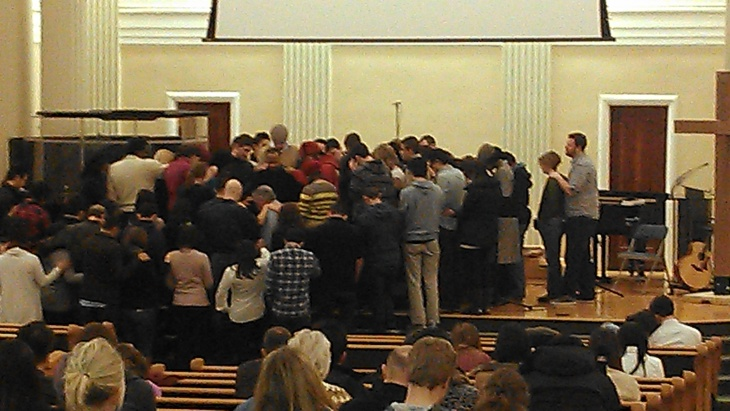 New Community Praying For Me