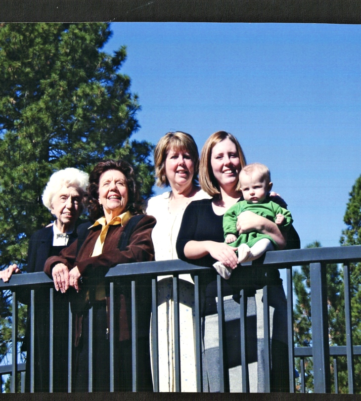 Courtney's Five Generations