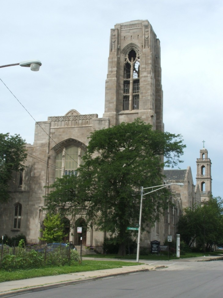 First Presbyterian Church, Early Meeting Place for Blackstone Rangers