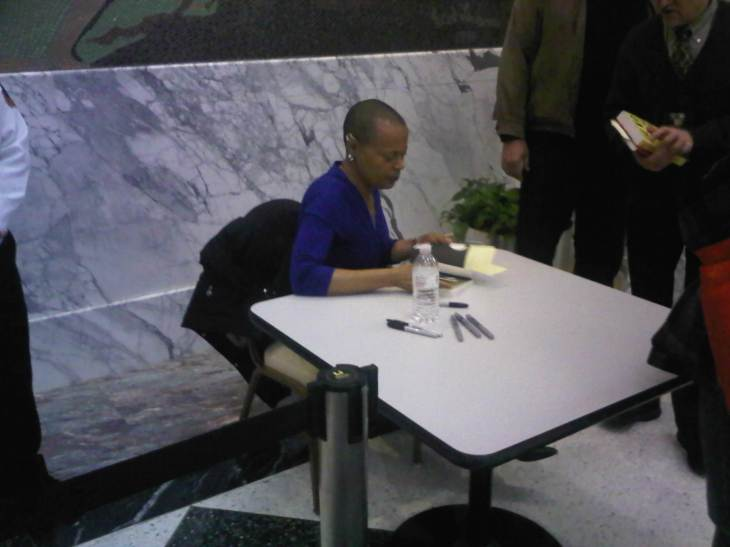 Sapphire signing books