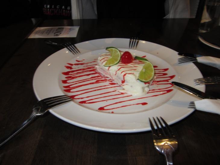 Dessert at LaCuchara